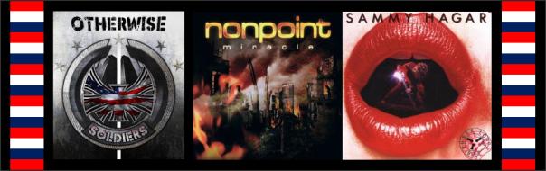 Three For Thursday - Otherwise, Nonpoint, Sammy Hagar