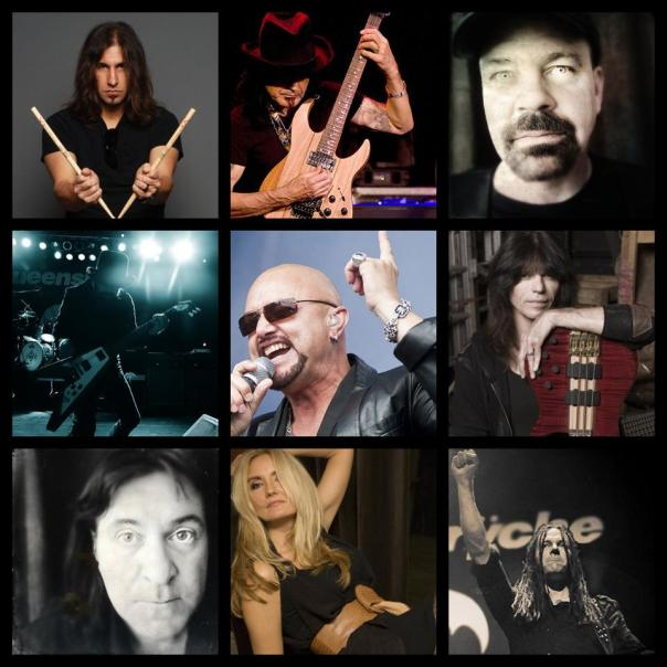 Queensryche Collage - Geoff Tate