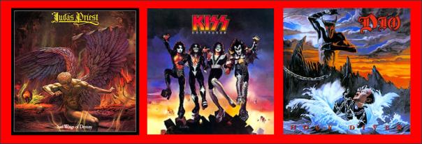 Three For Thursday Judas Priest, KISS, Dio