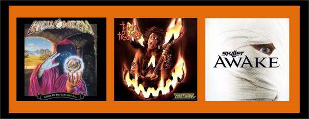 Three For Thursday - Halloween 2013 - Helloween, Fastway, Skillet