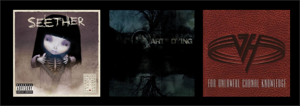 Three For Thursday - Seether, Art Of Dying, Van Halen