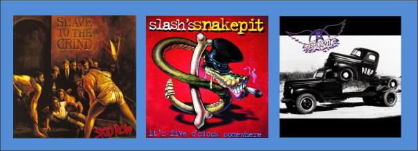 Three For Thursday - Skid Row, Slash's Snakepit, Aerosmith