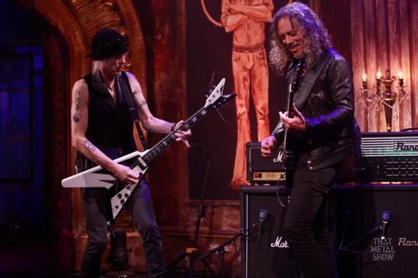 That Metal Show - Kirk Hammett, Michael Schenker