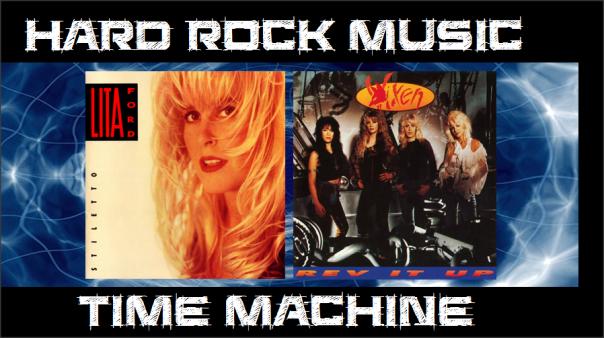 Hard Rock Music Time Machine - Lita Ford - Vixen