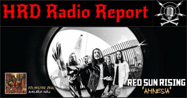 HRD Radio Report - Red Sun Rising - Amnesia